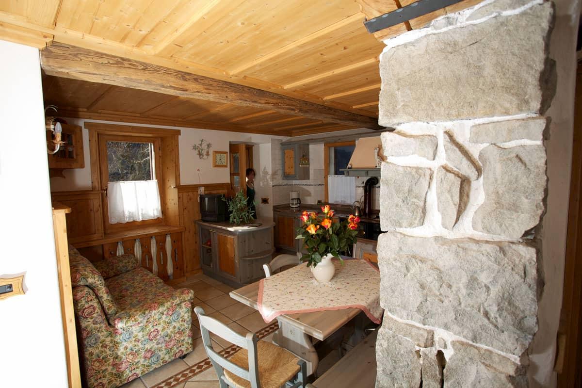 Appartamento Piano Terra - Casa Momi Camping Civetta - Val di Zoldo