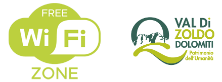 Wi-Fi Free Zone Logo - Val di Zoldo Patrimonio dell'Umanità