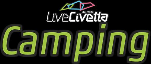 Logo Camping Civetta della Famiglia Balestra - Val di Zoldo