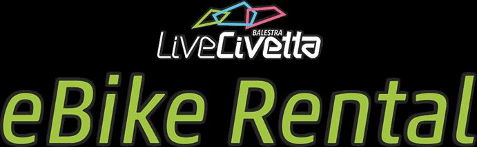 Logo eBike Rental Civetta della Famiglia Balestra - Val di Zoldo